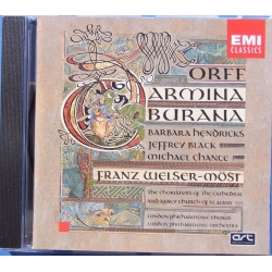 Orff: Carmina Burana. Barbara Hendricks, Franz Welser-Most. 1 CD. EMI