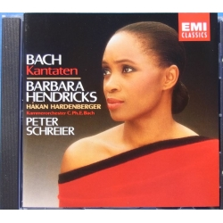 Bach: Kantater. Barbara Hendricks. 1 CD. EMI