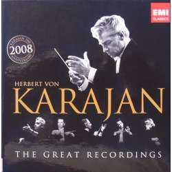 Herbert von Karajan The Great Recordings. 8 CD. EMI