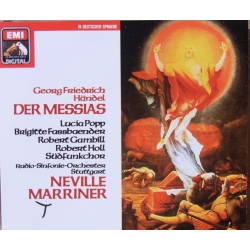 Handel: Messiah sunget på tysk. Marriner. 2 CD. EMI