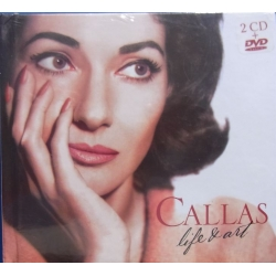 Maria Callas Life and Art. 2 CD & 1 DVD + Book. EMI