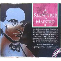 Otto Klemperer. The Maestro. Bach, Beethoven, Haydn, Mozart, Schubert, Wagner. 3 CD.