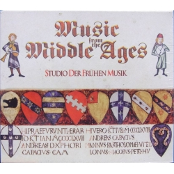 Music from the Middle Ages. Studio Der Frühen music + Members of the Schola Cantorum Basiliensis. 5 CD. Virgin