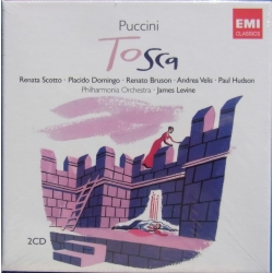Puccini: Tosca. Renata Scotto, Placido Domingo, Renato Bruson. James Levine. 2 CD. EMI