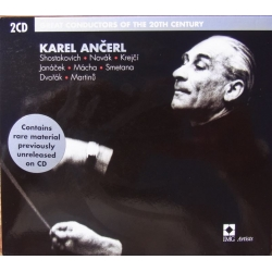 Karel Ancerl. Great conductors of the 20th Century. 2 CD. EMI