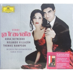 Verdi: La Traviata. Netrebko, Villazon, Hampson. WPO. Rizzi. 2 CD. DG