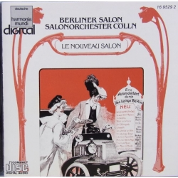 Berliner Salon. Salonorchester Cölln. 1 CD. DHM