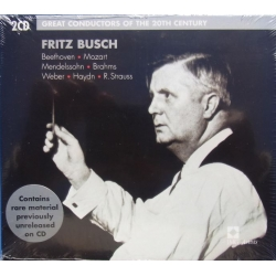 Fritz Busch. Great Conductos of the 20th Century. 2 CD. EMI