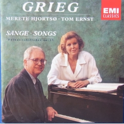 Grieg: Songs. Merete Hjortsoe, Tom Ernst. 1 CD. EMI
