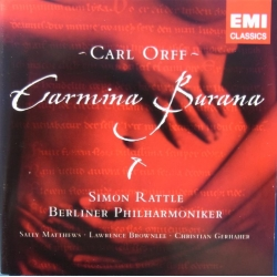 Orff: Carmina Burana. Simon Rattle, Berliner Philharmoniker. 1 CD. EMI