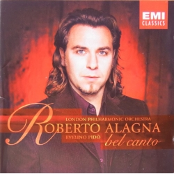 Roberto Alagna: Bel Canto. Donizetti & Bellini. Evelino Pido. 1 CD. EMI 5573022. New Copy