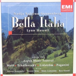 Bella Italia. From the Aspen Music festival. Nadja Salerno-Sonnenberg. Lynn Harrell. 1 CD. EMI