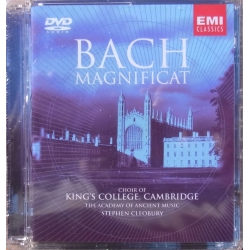 Bach: Magnificat. King´s College, Cambridge, Stephen Cleobury. 1 DVD. EMI