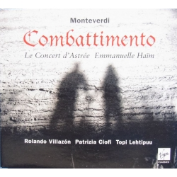 Monteverdi: Combattimento. Villazon, Haim. 2 CD. Virgin