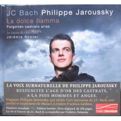 JC Bach: La Dolce Fiamma. Philippe Jaroussky. 1 CD. Virgin de luxe version
