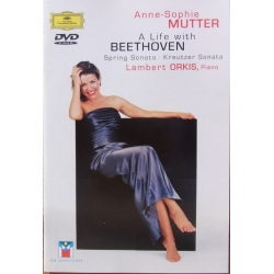 Anne-Sophie Mutter. A Life with Beethoven. 1 DVD. DG
