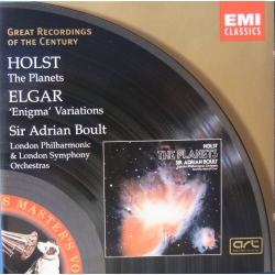 Holst: The Planets & Elgar: Enigma Variations. Boult. 1 CD. EMI. GRC