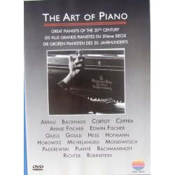 The Art of the Piano. Great Pianists of the 20'th Century. 1 DVD