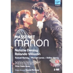 Massenet: Manon. Dessay, Villazon. 2 DVD. Virgin