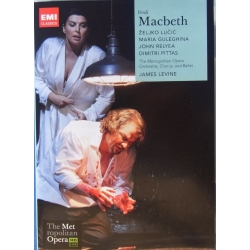 Verdi: Macbeth. James Levine. 2 DVD. EMI
