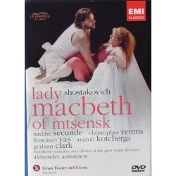 Shostakovich: Lady Macbeth of Mtsensk. Alexander Anissomov. 2 DVD. EMI