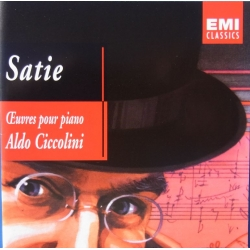 Erik Satie: Gymnopedies & Gynosienns. Aldo Ciccolini. 2 CD. EMI.