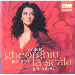 Angela Gheorghiu live from La Scala. Jeff Cohen (piano). 1 CD. EMI