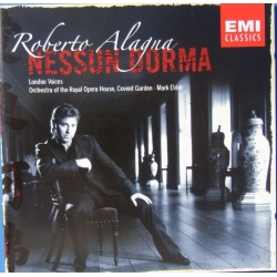 Roberto Alagna: Nessum Dorma. London Voices. Royal opera house, Covent Garden. 1 CD. EMI.