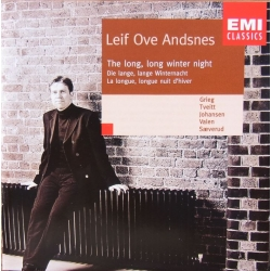 Leif Ove Andsnes. The Long, long winter night. Grieg, Tveit, Johansen, Valen, Sæverud. 1 CD. EMI