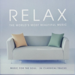 Relax. The Most beautiful music. Music for the Soul. 36 Classical tracks. 2 CD EMI