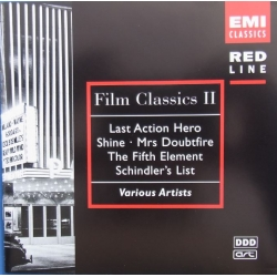 Film Classics II. Last action Hero, Shine, Mrs. Doubtfire, The Fifth element, Schindel's list. 1 CD EMI.