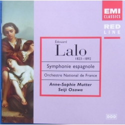 Lalo: Symphonie Espagnole. Mutter, Ozawa. 1 CD. EMI Red line