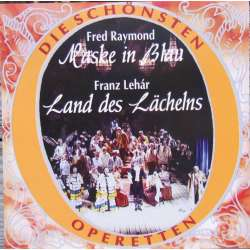 Raymond: Maske in Blau. & Lehar: Land of smiles. Berliner operetta orchestra, Fritz Zwerenz. 1 CD. Fox