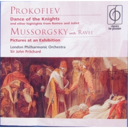Prokofiev: Dance of the Knights. & Pictures at an Exhibition. John Prichardt, LPO. 1 CD. EMI