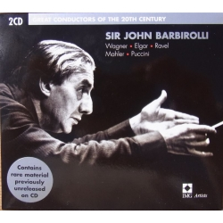 Sir John Barbirolli. Great conductors of the 20th Century. 2 CD. EMI