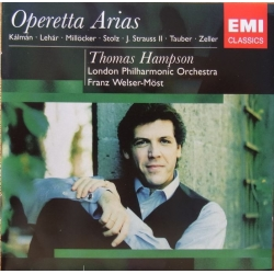 Thomas Hampson. Operette Arias. LPO, Welser-Möst. 1 CD. EMI
