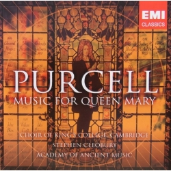 Purcell: Music for Queen Mary. Choir of King's College, Cambridge, Stephen Cleobury. 1 CD. EMI