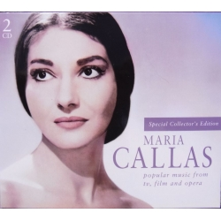 Maria Callas: Popular music from Tv film and Opera. 2 CD. + Bog