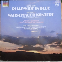Addinsell: Warsaw Concerto & Gershwin: Rhapsody in Blue. 1 LP. Philips