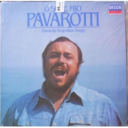 Pavarotti. O Sole Mio. Favourite Neapolitan songs. 1 LP. Decca. 4100151 A brand new copy