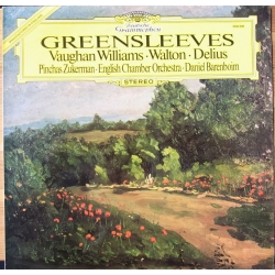 Greensleeves. Vaughan-Williams, Walton, Delius. Zukerman, ECO, Barenboim. 1 LP DG