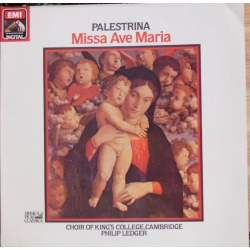 Palestrina: Missa Ave Maria. Philip Ledger, Choir of King's College, Cambridge. 1 LP EMI