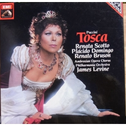 Puccini: Tosca. Scotto, Domingo, Bruson. Levine. 2 LP EMI