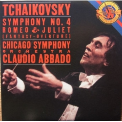 Tchaikovsky: Symfoni nr. 4. & Romeo and Juliet. Claudio Abbado, Chicago Symphony Orchestra. 1 CD. Sony
