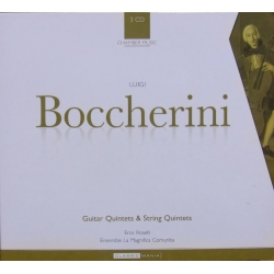 Boccherini: Guitar Quintets & String Quintets. 3 CD. Brilliant Classics