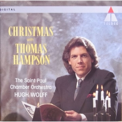 Christmas with Thomas Hampson. The Saint Paul Chamber Orchestra, Hugh Wolff. 1 CD. Teldec