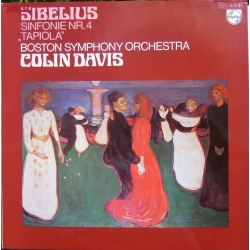 Sibelius: Symfoni nr. 4 & Tapiola. Colin Davis, Boston SO. 1 LP Philips