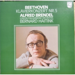 Beethoven: Piano Concerto no. 5. Alfred Brendel, LPO. Haitink. 1 LP. Philips