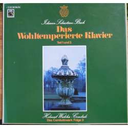 Bach: The Well-Tempered Clavier. Part 1 & 2. Helmut Walcha. 5 LP EMI.