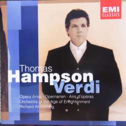 erdi: Opera arier. Thomas Hampson, Orchestre of the Age of Enlightenment. Richard Armstrong. 1 CD. EMI 5571132